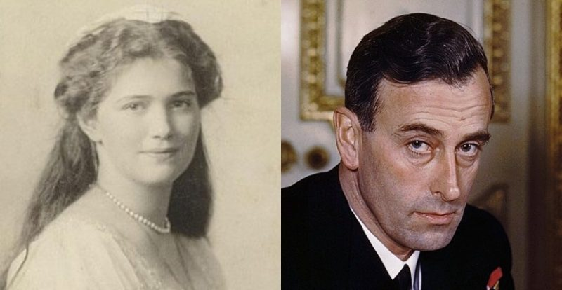 Maria Romanov and Louis Mountbatten