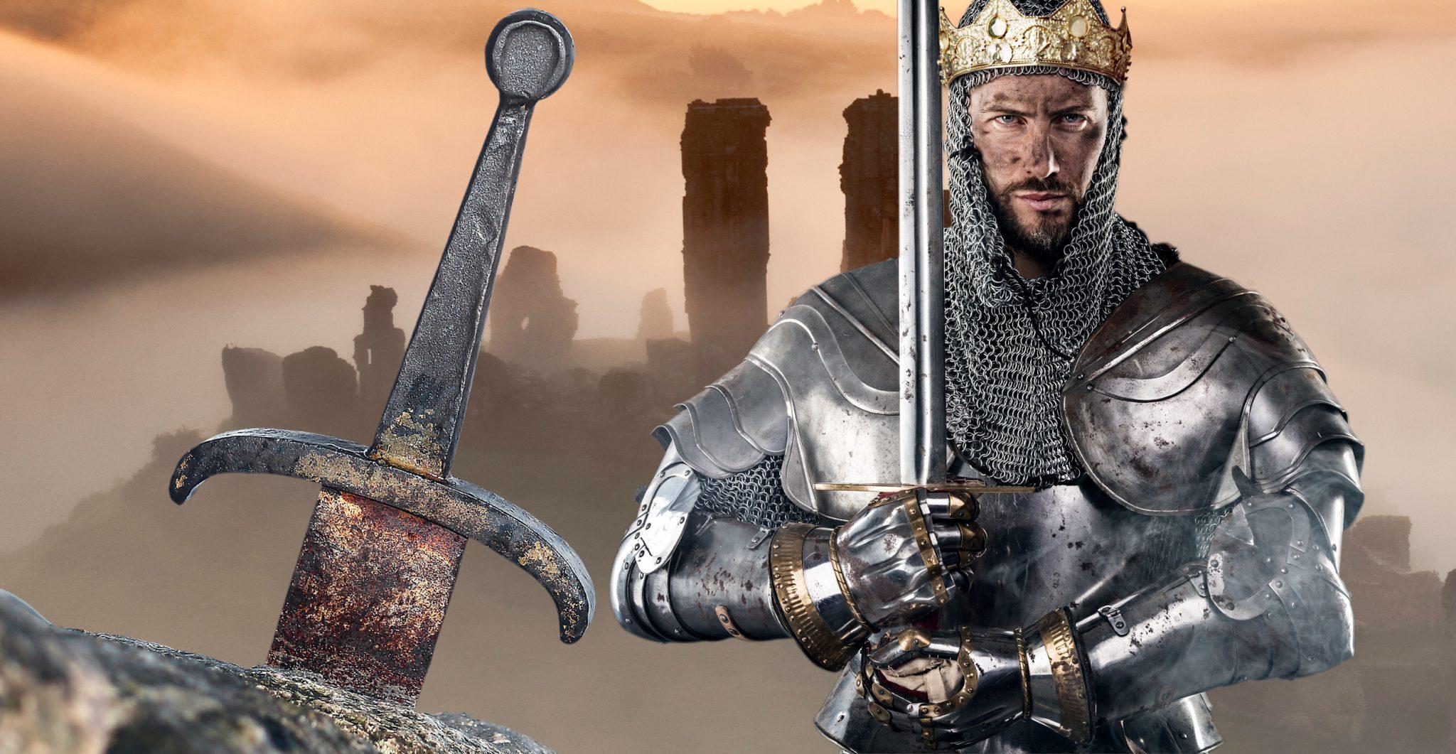 Arthur's legendary sword Excalibur