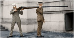 Punt gun in color