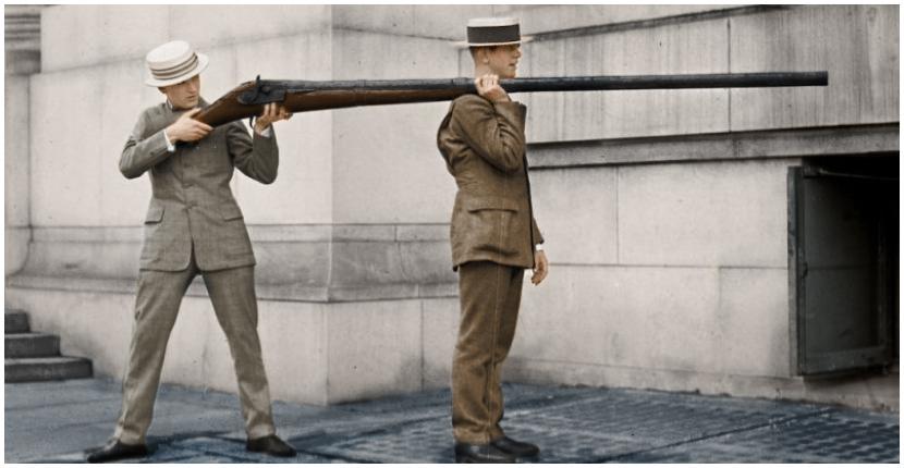 A punt gun