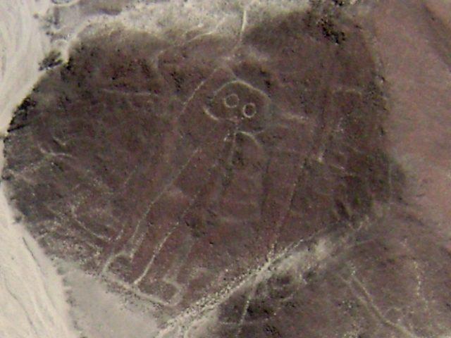 Nazca lines astronaut