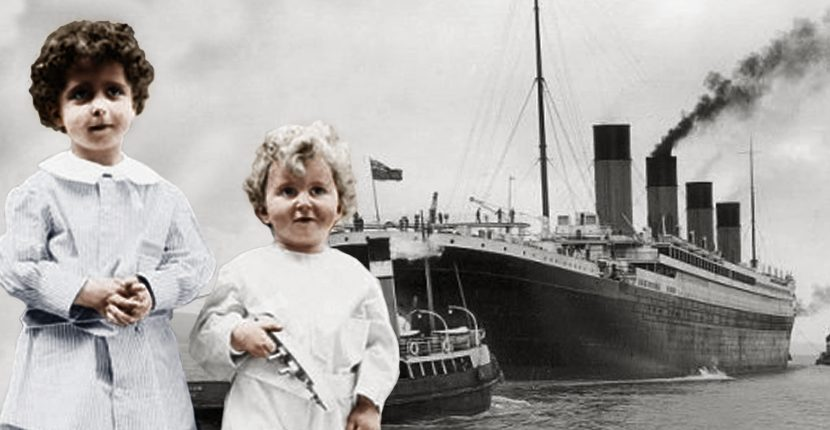 Nasib Buruk Dua Bocah Titanic, Michel dan Edmond