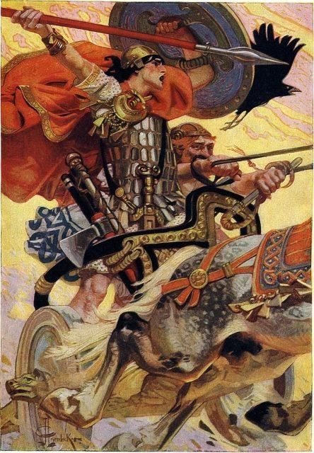 "Cú Chulainn – The Legendary ""Incredible Hulk"" of Irish Mythology"