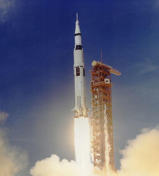 Apollo II rocket