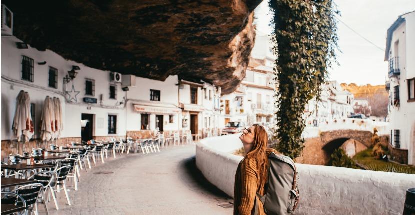 The incredible cliff village of Setenil de las Bodegas.
