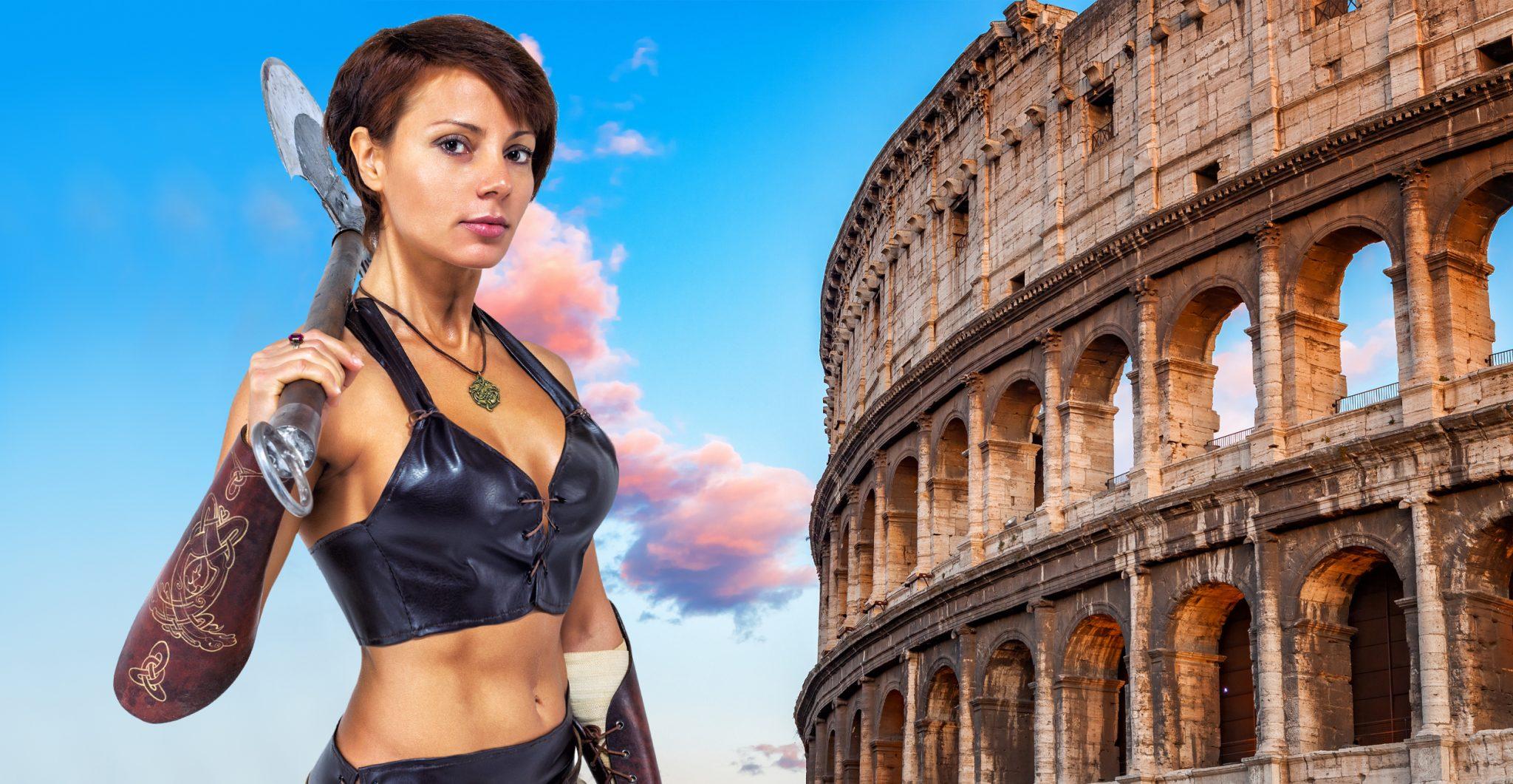 Female Gladiators are called Gladiatrix