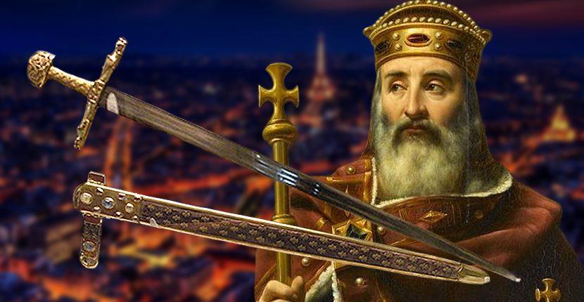 Joyeuse, the sword of Charlemagne