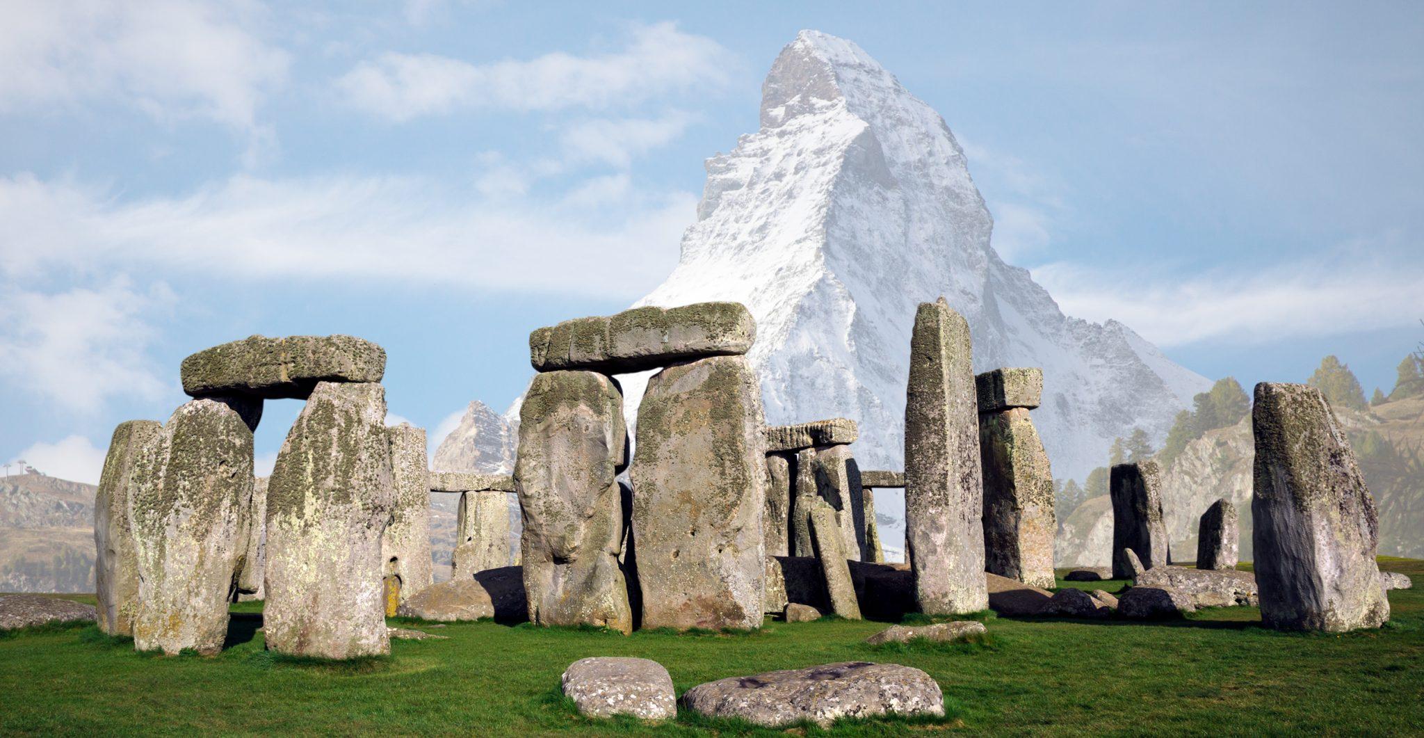 A stonehenge in Switzerland