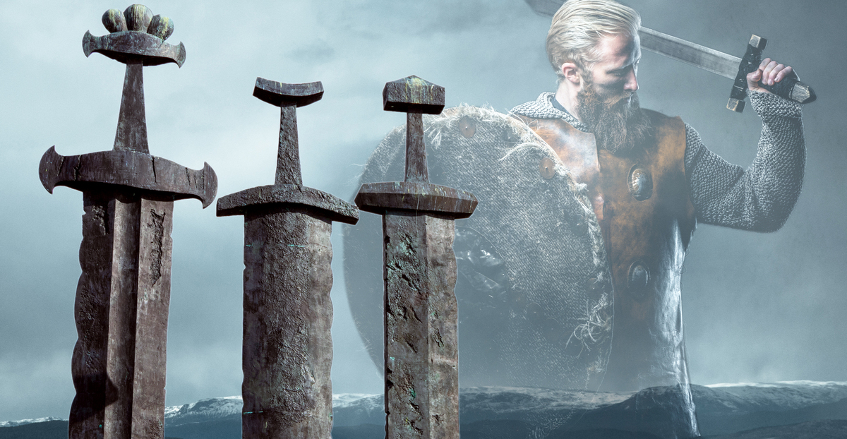 Huge Hoard of 100 Viking Swords Found in Estonia
