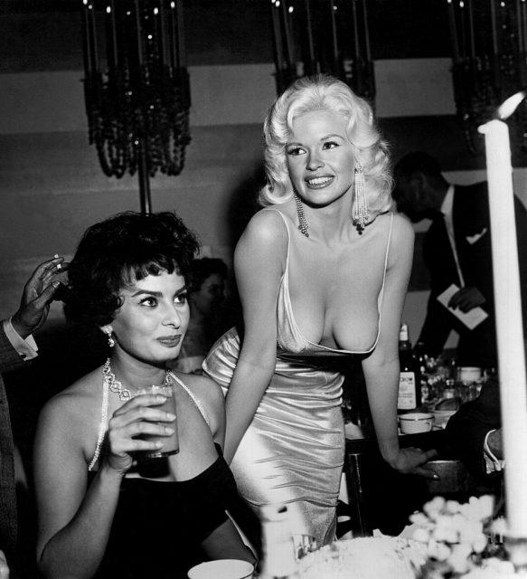 Sophia Loren Jayne Mansfield