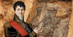 Napoleonic general skeleton