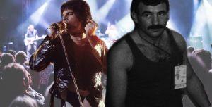 Freddie Mercury and Jim Hutton