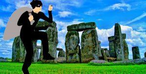 Stonehenge thief