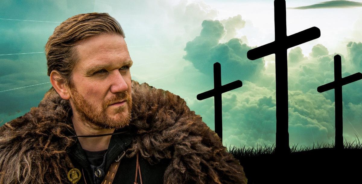 Viking and Christian crosses