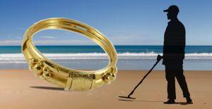 metal detector gold ring