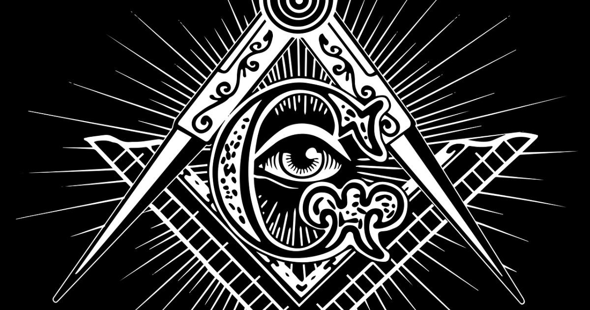 Artistic symbol of Freemasons