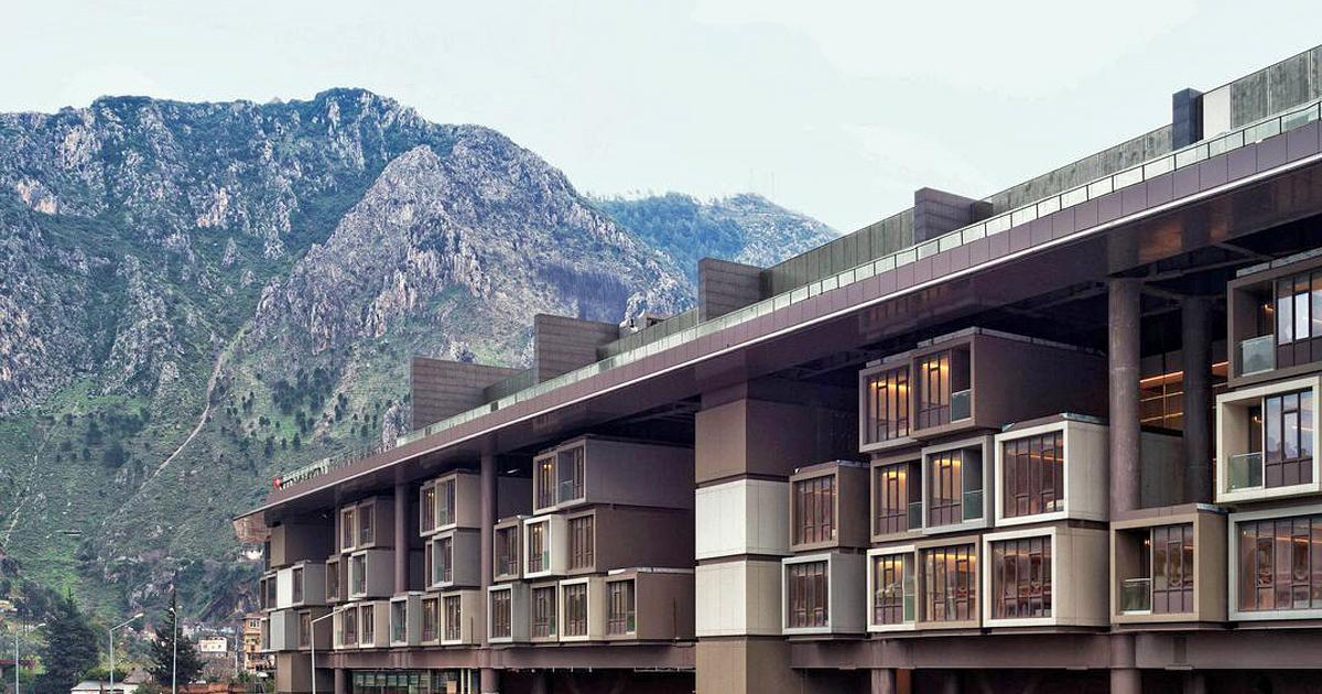 The Hotel Museum Antakya. Image courtesy of the hotel.