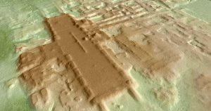 oldest largest maya monument
