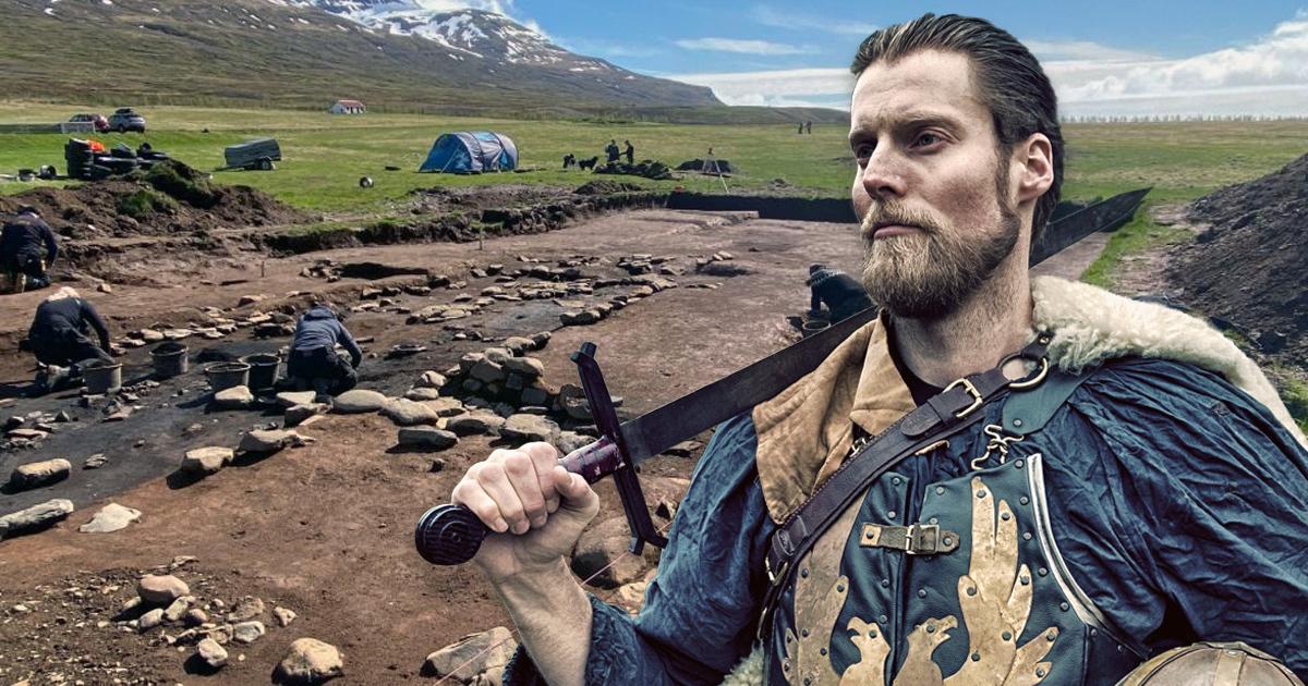 Viking history being made.