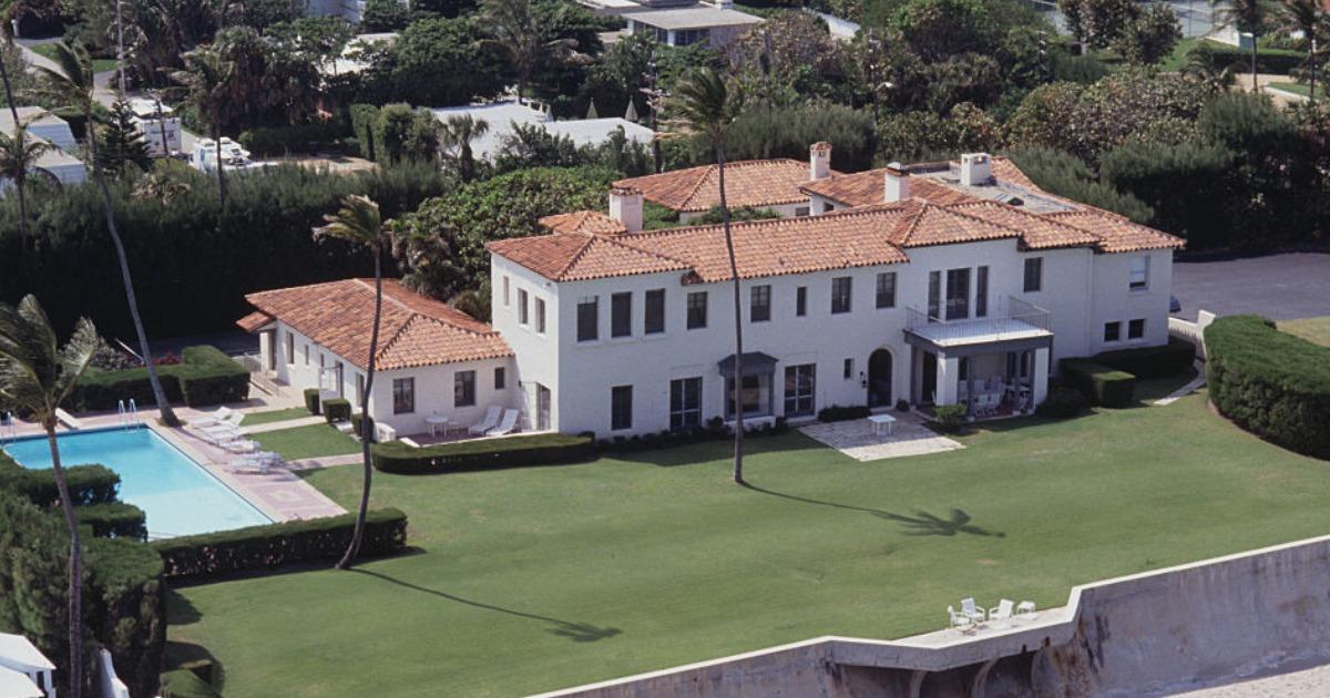 The former Kennedy estate in Palm Beach, FL. (Photo by © Steve Starr/CORBIS/Corbis via Getty Images)