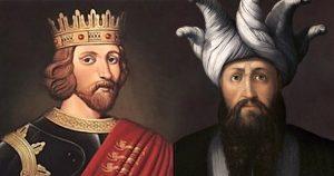 Richard the Lionheart and Saladin