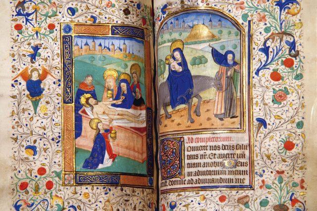 Illuminated prayer book
