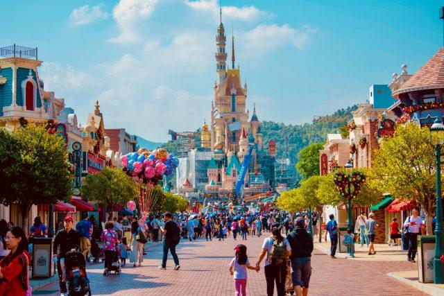 Modern-day Disneyland.