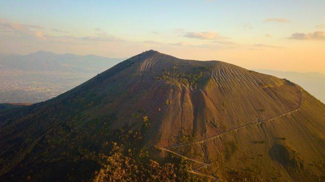 Modern-day Mount Vesuvius.