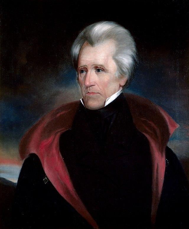 Portrait of President Andrew Jackson
