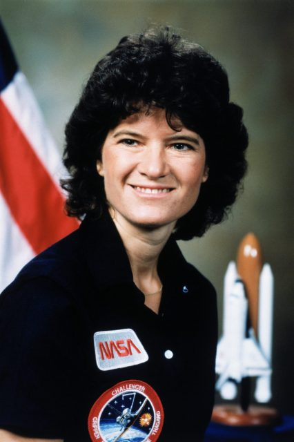 portrait of Sally Ride