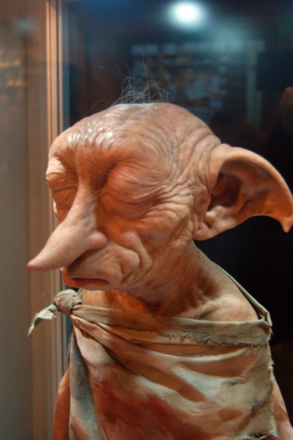 Dobby the house-elf at the Warner Bros. Studio Tour London