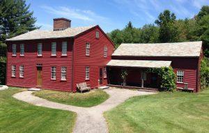 Alcott house at Fruitlands