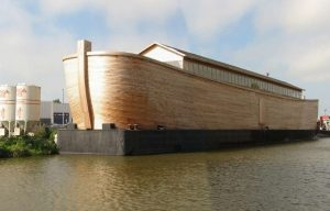Half-scale replica of Noah's Ark