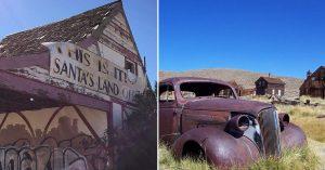 Santa Claus, Arizona + Bodie, California