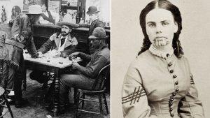 Gamblers in the Wild West + Olive Oatman