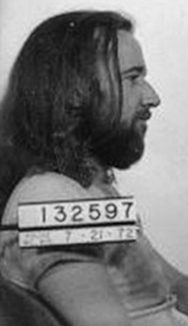 George Carlin 1972 mugshot