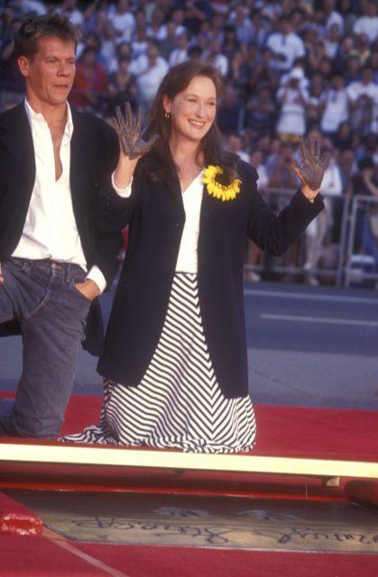Meryl Streep and Kevin Bacon
