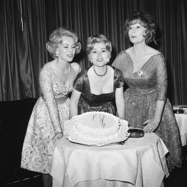 Three Gabor sisters
