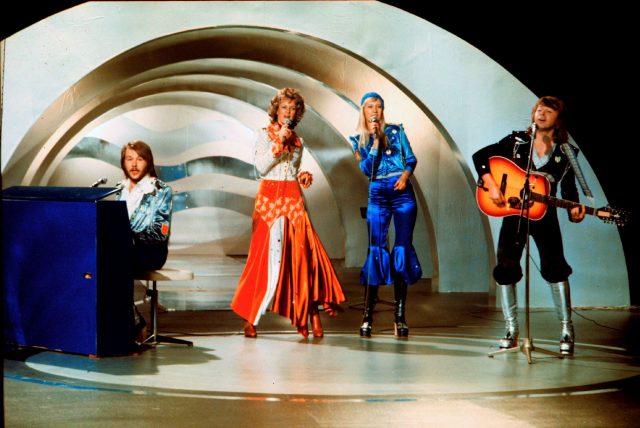 Abba at Eurovision, 1974