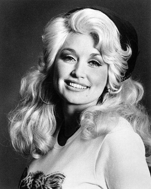 Portrait of Dolly Parton
