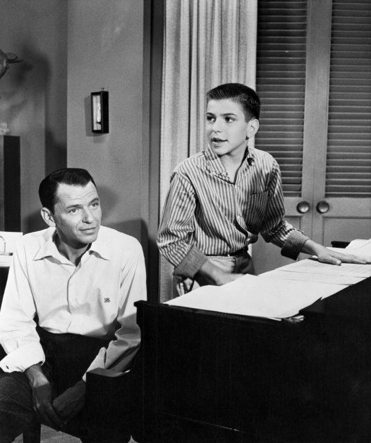 Frank Sinatra and Frank Sinatra Jr