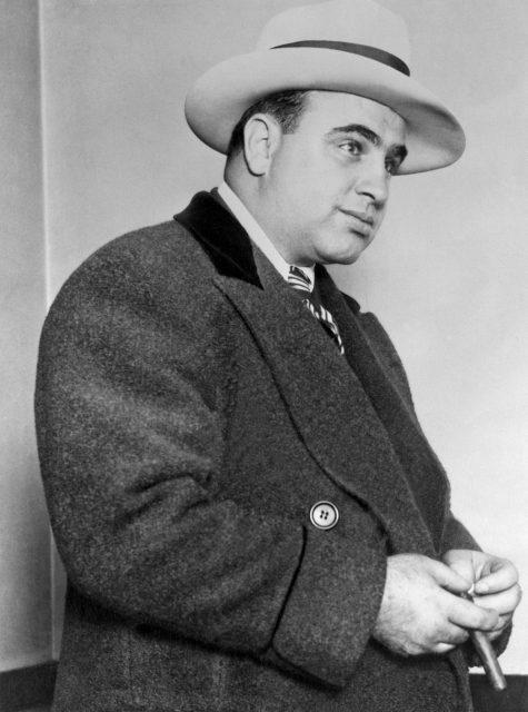 Gangster Al Capone in Chicago