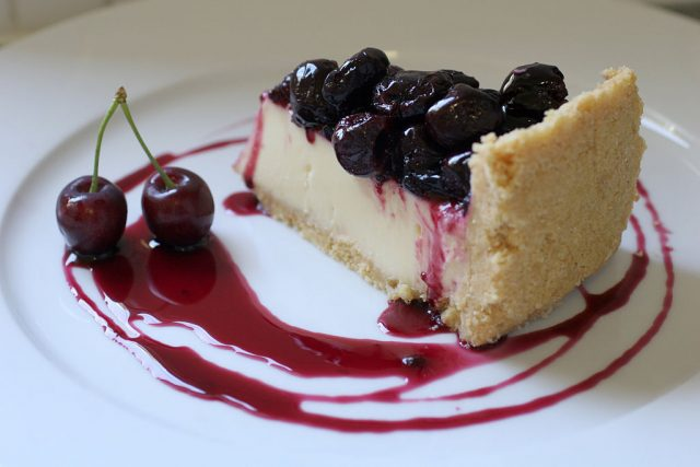 Cherry and marscarpone cheesecake (Photo Credit: Fairfax Media via Getty Images)