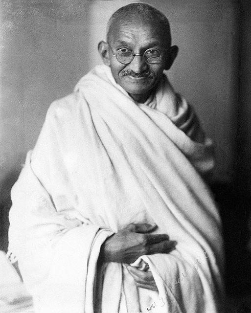 Portrait of Ghandi