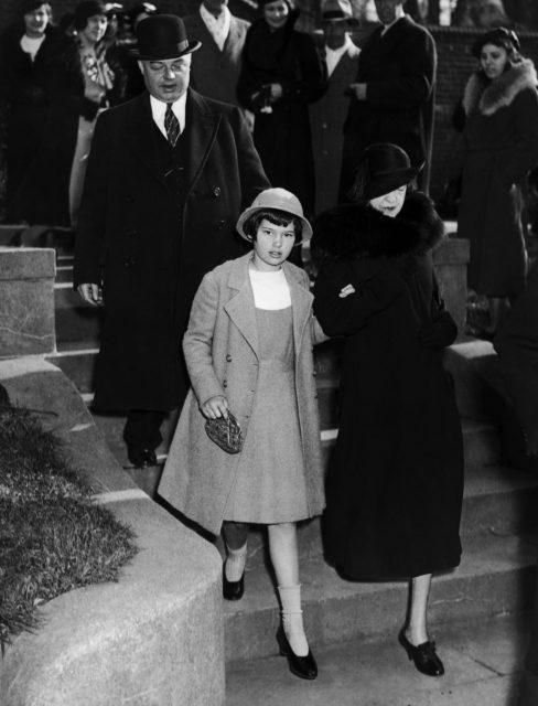 Custody trial involving Gloria Vanderbilt
