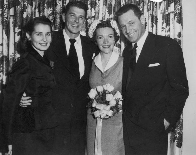 Ronald and Nancy Reagan's wedding