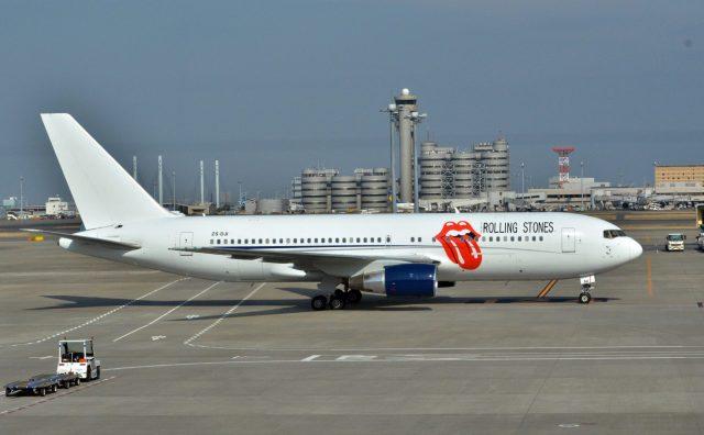 The Rolling Stones's jet
