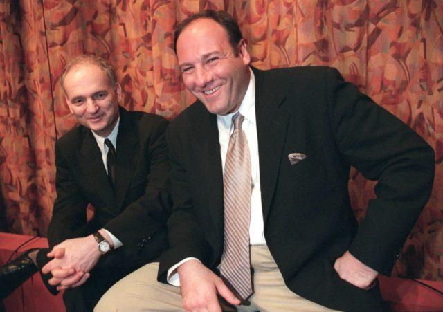 David Chase and James Gandolfini (Photo Credit: Chase Films/Brad Grey Television/HBO Entertainment & MovieStillsDB)