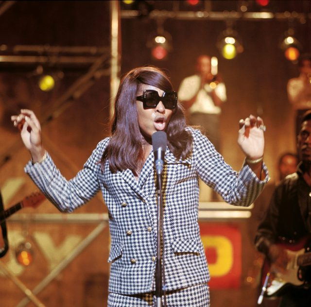 Tina Turner performs in 1966