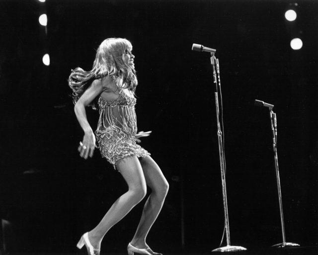 Tina Turner performing in 1971